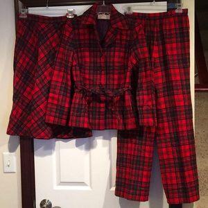 Vintage Women's Three Piece Pendleton Outfit!